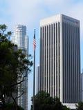 银行大楼在洛杉矶 免版税图库摄影