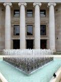 银行大楼总部 免版税库存图片