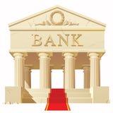 银行大楼 免版税库存照片