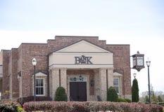 银行建立了1905年,奥克兰, TN 免版税库存图片