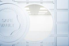 银行开放穹顶 免版税库存图片