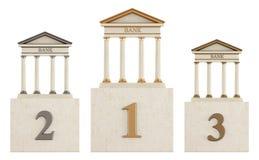 银行指挥台 向量例证