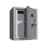 银行现金开放安全 库存照片