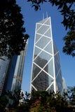 银行瓷香港塔 免版税库存图片