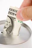 银行硬币 免版税库存图片