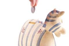 银行票据贪心放置 免版税库存图片