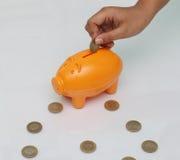 银行票据贪心放置的节省额 库存图片