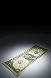 银行美元附注一 免版税图库摄影