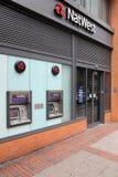 银行英国 库存照片