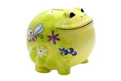 银行蛙 库存图片