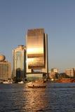 银行迪拜国民 库存图片