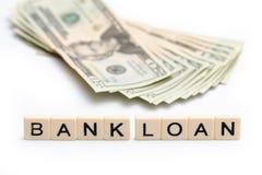 银行贷款 免版税库存照片