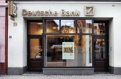银行deutsche 免版税库存图片