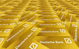 银行deutsche 库存图片