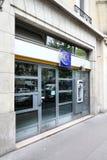 银行lcl巴黎 免版税库存照片
