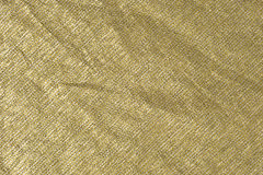 银金子金属织品背景 库存照片
