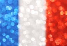 银,蓝色,红色垂直条纹提取背景 免版税库存图片