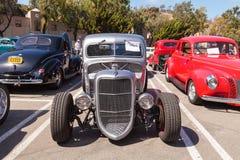 银1938年福特卡车小室小轿车 免版税库存照片