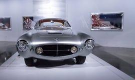 银1953年菲亚特8V超音速吉阿 库存图片