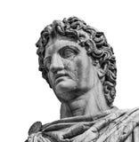 铸工或北河三古老罗马雕象 免版税库存图片