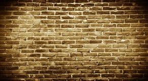 铸工砖墙背景 图库摄影
