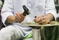 铸币厂工匠 免版税库存照片