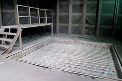 铸造厂工厂 免版税库存图片