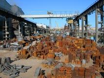 铸造厂 免版税库存照片