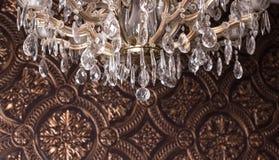 铸造在墙壁上的墙壁带状装饰 免版税库存图片