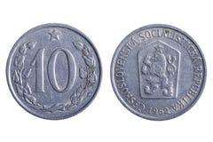 铸造捷克斯洛伐克宏指令 免版税库存照片