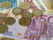 铸造欧洲附注 免版税图库摄影