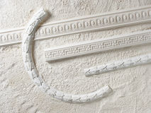 铸造的灰泥 免版税库存图片