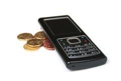 铸造移动电话 免版税库存照片