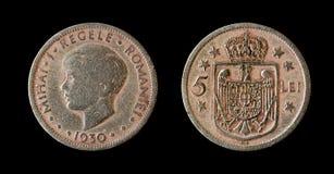 铸造罗马尼亚皇家 库存图片