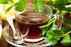 铸造茶 免版税图库摄影