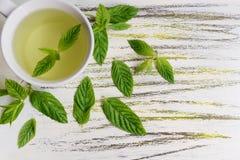 铸造茶 免版税库存图片