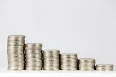 铸造财务图形向量 库存图片