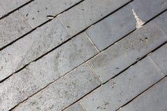 铺块由不对称的石头制成 免版税图库摄影