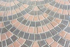 铺块的砖使用作为背景 免版税图库摄影
