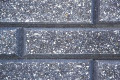 铺样式与形状和颜色涨落不定的石头块 免版税库存图片