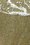 铺沙海运 库存图片