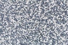 铺沙石小卵石纹理或铺沙室内设计事务的石小卵石背景 外部装饰设计 免版税库存图片