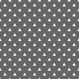 铺磁砖与白色三角的传染媒介样式在灰色背景 库存照片