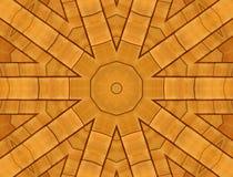 铺磁砖木头 库存照片