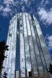 铺磁砖的大厦玻璃 库存图片