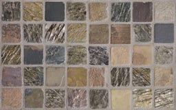 铺磁砖的抽象背景 免版税库存照片