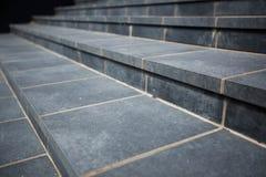 铺磁砖的步,石头 免版税库存照片