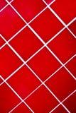 铺磁砖的红色 免版税库存图片