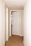 铺磁砖的门走廊 免版税图库摄影