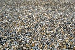 铺纹理的鹅卵石 库存照片